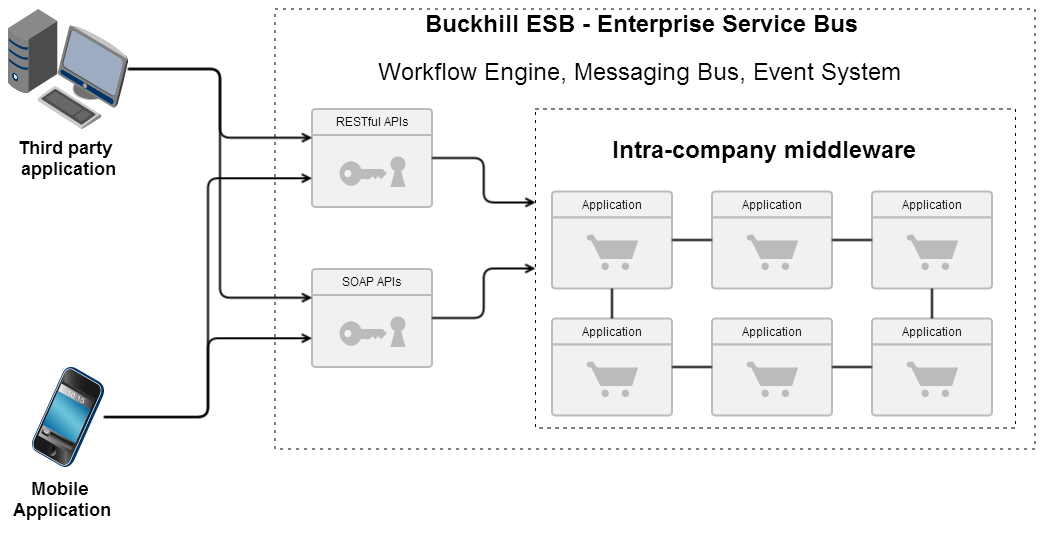 Middleware and ESB development